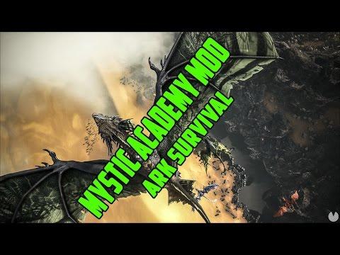 ARK Survival Sirva röhögős Live ! 4,5,5-ik rész! [ Mystic Academy Mod ] / Banderasz