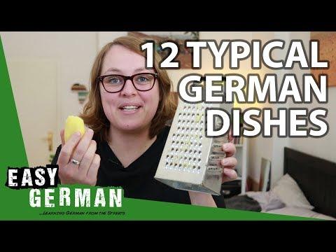 Tiếng Đức bài 34: 12 món ăn điển hình của Đức