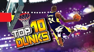 NBA 2K20 TOP 10 PLAYS #23 - RAREST DUNKS & POSTERIZERS