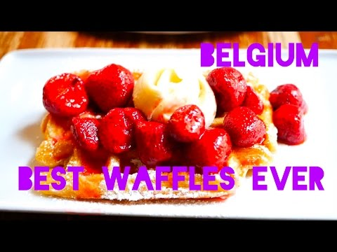 Brussels Belgium: The Best Waffles in the World!