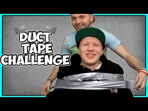 Duct Tape Challenge - Escape If You Can w/iBallisticSquid