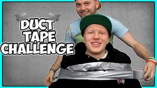 duct tape challenge escape if you can w iballisticsquid