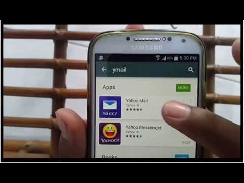 Android Phone : How to create yahoo mail account