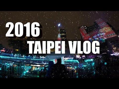 【遊記VLOG】| travel TAIWAN in台北 | GoPro HERO4 HD | ( 爬象山 吃海賊 逛九份 看聖誕樹 )