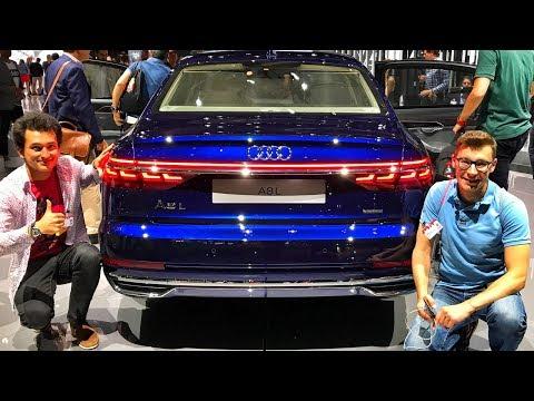 Обзор новой Audi A8 с Павлом Блюденовым - стоит ли нервничать Mercedes S-Class'у и BMW 7-series?