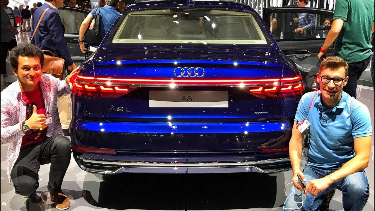 Обзор новой Audi A8 с Павлом Блюденовым   стоит ли нервничать Mercedes S Class'у и BMW 7 series?