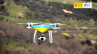 Multas caídas del cielo con los drones españoles de la DGT