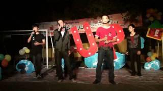 Diễn tập MEC tháng 11 UP - Tan biến tốp nam MEC