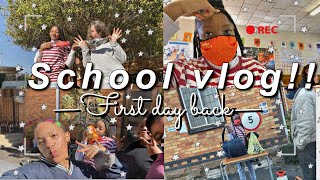 First day back to school after quarantine vlog | High School Vlog | South African Youtuber!