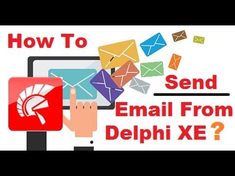 How To Send Email From Delphi XE | Cara Mengirim Email Dari