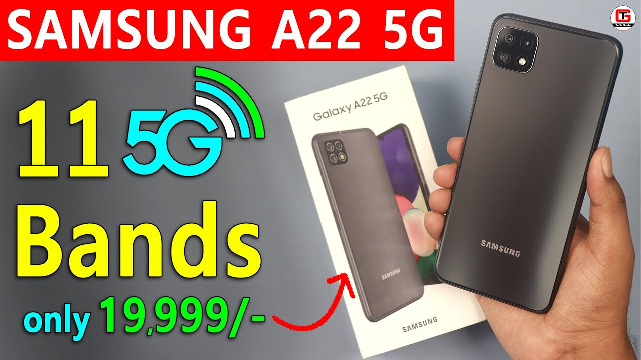 Samsung A22 5G Real Truth | Samsung A22 5G Unboxing & Hands-On Review Samsung A22 5G Price in India