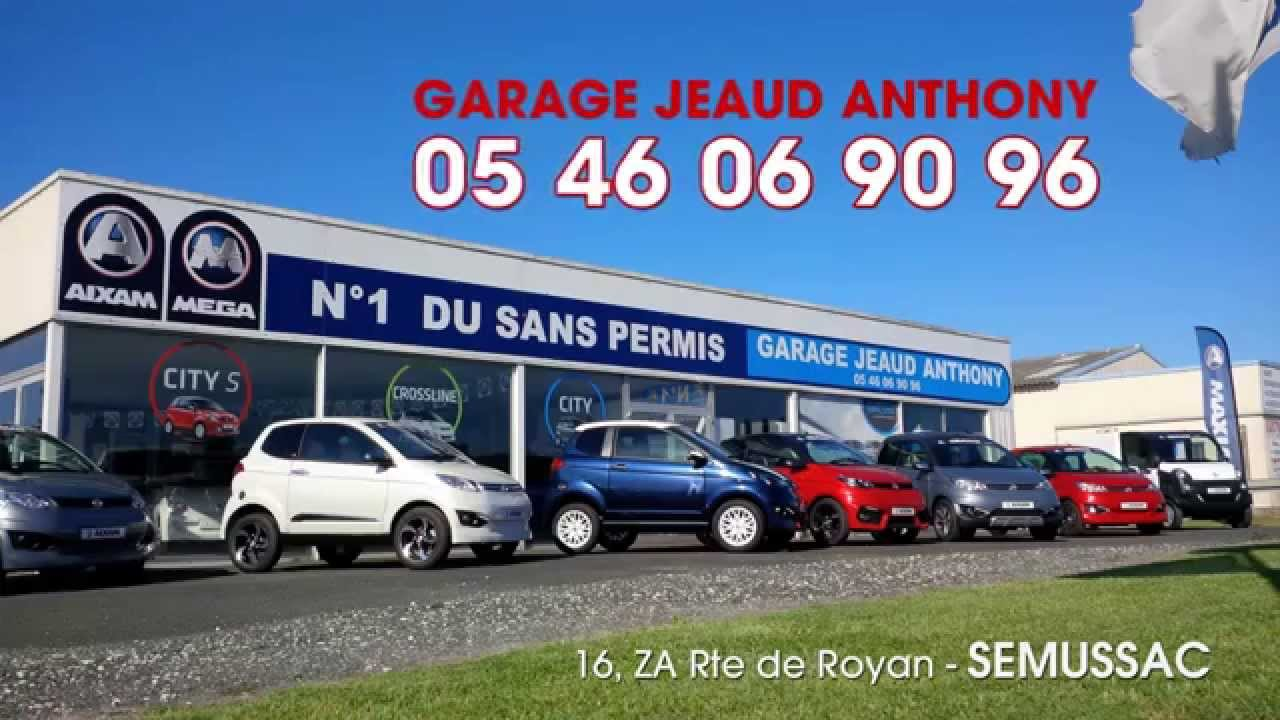 Voiture sans permis 17 garage jeaud anthony for Garage anthony salindre