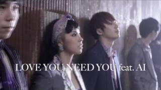 THE BAWDIES NEW SINGLE 「LOVE YOU NEED YOU feat. AI」2011.3.30 on s...