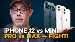 iPhone 12 vs. mini vs. Pro vs. Max - Buy This One!