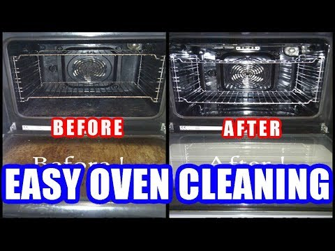 How to Clean Oven With Baking Soda & Vinegar Easily