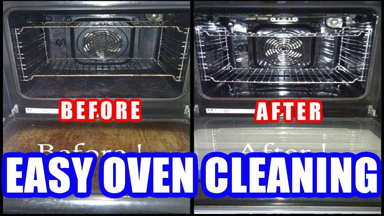 How To Clean An Oven Easily With Baking Soda Vinegar Cleaning Instructions Without Chemicals