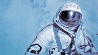 First spacewalk [Russian documentary] Pt 1