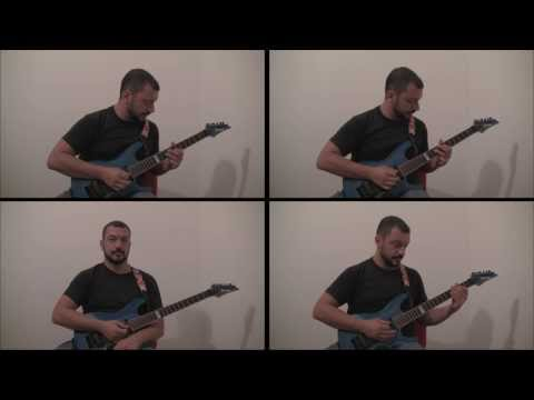 J.S. Bach - Prelude and Fugue in A minor (rearranged for 4 guitars) - BWV 559