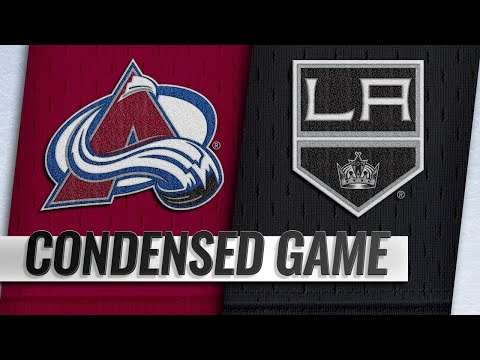 11/21/18 Condensed Game: Avalanche @ Kings