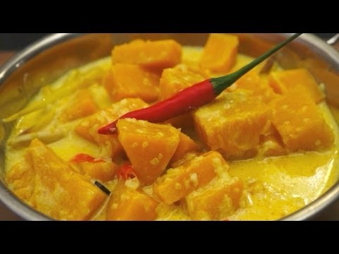 how to make pumpkin curry in indian style