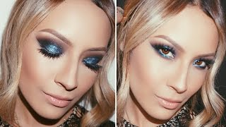 ELECTRIC BLUE SMOKEY EYE/ Desi Perkins Thumbnail