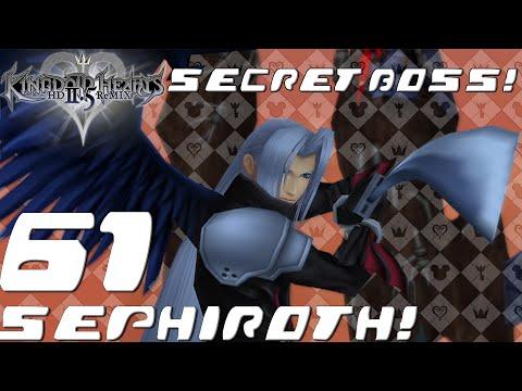 Kingdom Hearts HD 2.5 ReMIX - Secret Boss - Sephiroth (KH2 FM Ep. 61)