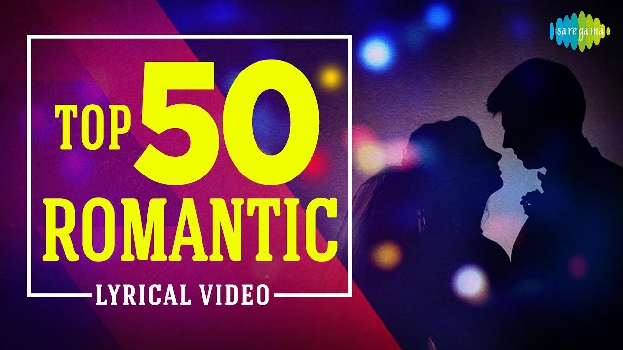 Top 50 Romantic Lyrical video | One Stop Jukebox