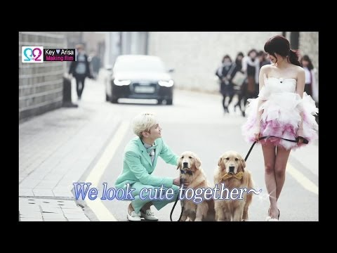 Global We Got Married S2 EP06 Making Film (SHINee Key & Arisa) 140514 (샤이니 키 & 야기 아리사)
