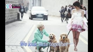 Global We Got Married S2 EP06 Making Film (SHINee Key & Arisa) 140514 (샤이니 키 & 야기 아리사)