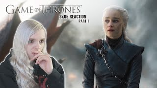 Game of Thrones 8x05 'The bells' REACTION part 1
