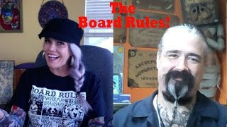 OUIJA BOARD RULES  ((And make your own Board!))
