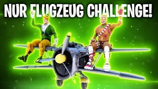 NUR FLUGZEUG CHALLENGE! ✈️ | Fortnite: Battle Royale