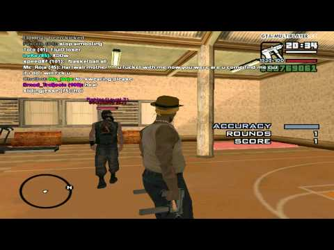 gta samp part 1 : me play basketball with friends