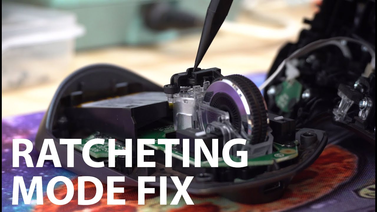 Fixing the Logitech MX Master Scroll Wheel