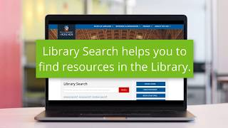 How Do I Use Library Search?