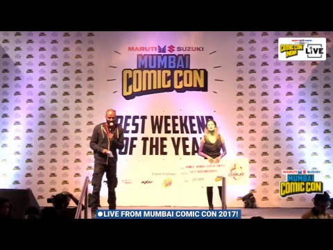 Live from Mumbai Comic Con 2017!