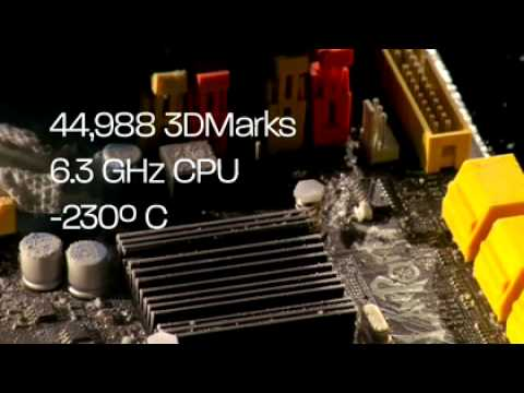 AMD Phenom II Overclocked to 6.5GHz - New World Record for 3DMark
