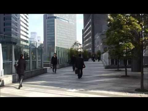 Roaming Around Shiodome Financial Quarter - Tokyo