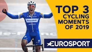 The Top 3 Cycling Moments of 2019 | Brad's Hall of Fame | Cycling | Eurosport