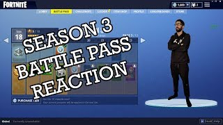 Fortnite Season 3 Battle Pass Reaction with RyanYags