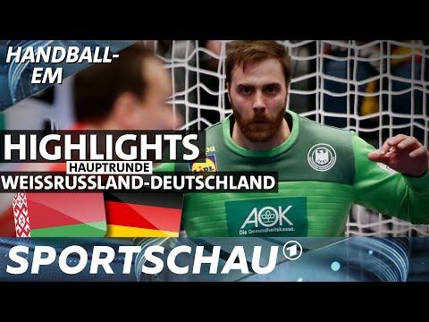 Spielbericht: Deutschland gegen Weißrussland, DHB-Team kommt in Schwung | Handball-EM | Sportschau