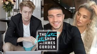 I Interviewed Molly Mae & Tommy Fury with a Fake James Corden