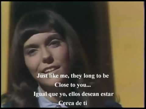 CLOSE TO YOU . SUBTITULADA . CARPENTERS