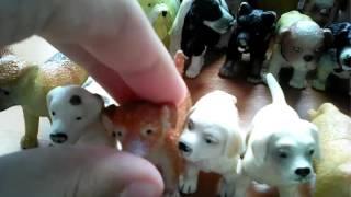Обзор моей коллекции фигурок собак.