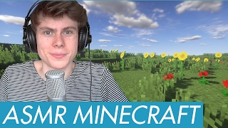 ASMR - Let's Play MINECRAFT again! - Gaming with Male Whispering