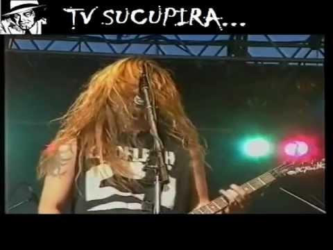 TV SUCUPIRA - SEPULTURA - Dead Embryonic Cells Live 91 - Finland HQ !!!