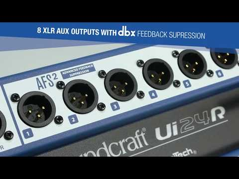 Nouveauté: Soundcraft Ui24R -  Présentation
