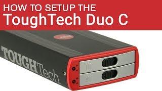 Hoe zet je de ToughTech Duo USB-C-C Externe RAID-Behuizing