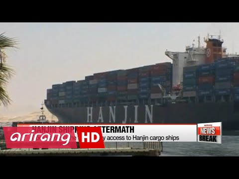 Hanjin Shipping pandemoneum shocks global trade market
