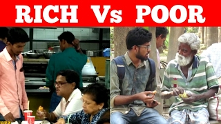 Sometimes POOR Peoples Are RICH - Social Experiment - POOR Vs RICH